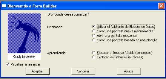 Tutorial Oracle Developer